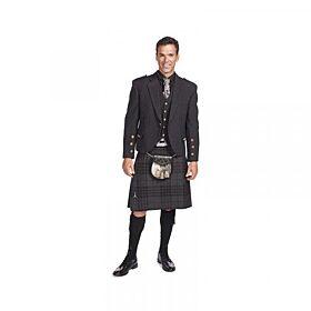 Tweed Jacket Kilt Outfit